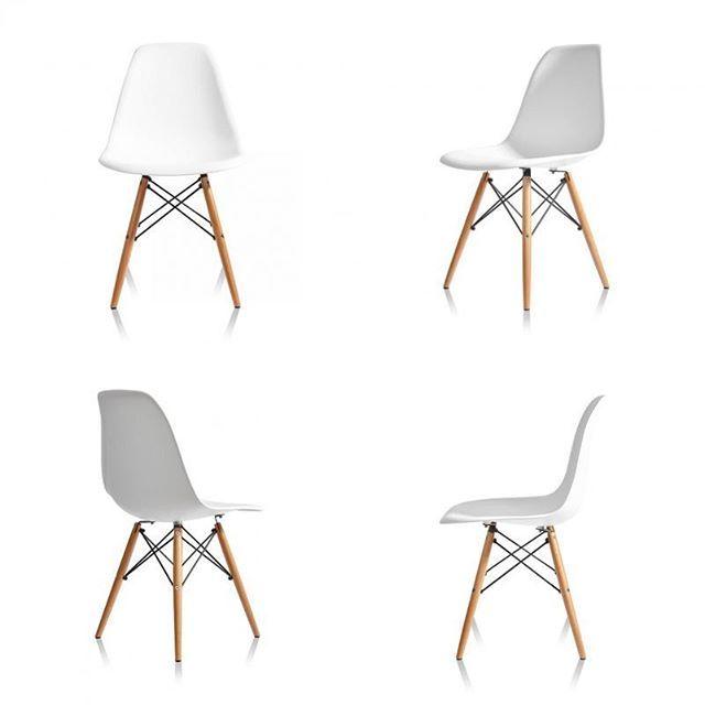 Стул Eames DSW в наличии на складе. Цена 3230 руб. Остальные модели и расцветки из коллекции Eames смотрите на нашем сайте: dsklad.ru. #дизайнсклад #стулья #eames