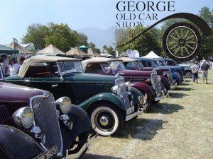 ********** GEORGE OLD CAR SHOW **********  The Southern Cape Old Car Club is proud to present the 16th George Old Car Show in collaboration with one of the main sponsors, Midas. The 2013 show will be known as the Midas George Old Car Show. This prestigious event takes place on the 09th & 10th of February 2013 at the PW Botha College in York Street, George. Come and enjoy the fun