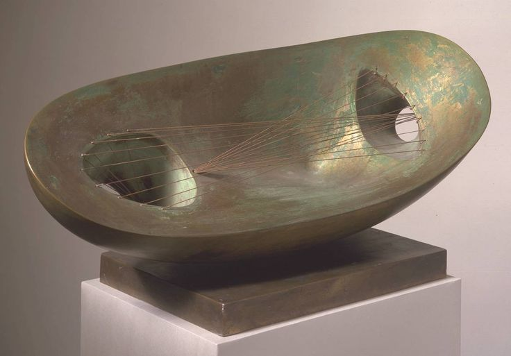 Dame Barbara Hepworth 'Landscape Sculpture', 1944, cast 1961 © Bowness, Hepworth Estate