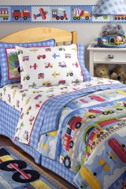 Hoping to find this bedding for Eli for when we switch him to a toddler bed.