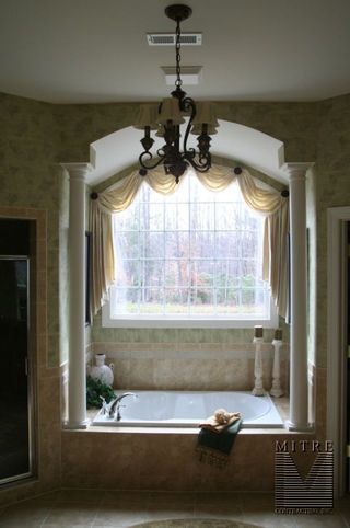 Image detail for -... drywalled archways over master bathroom bathtubs with tapered columns