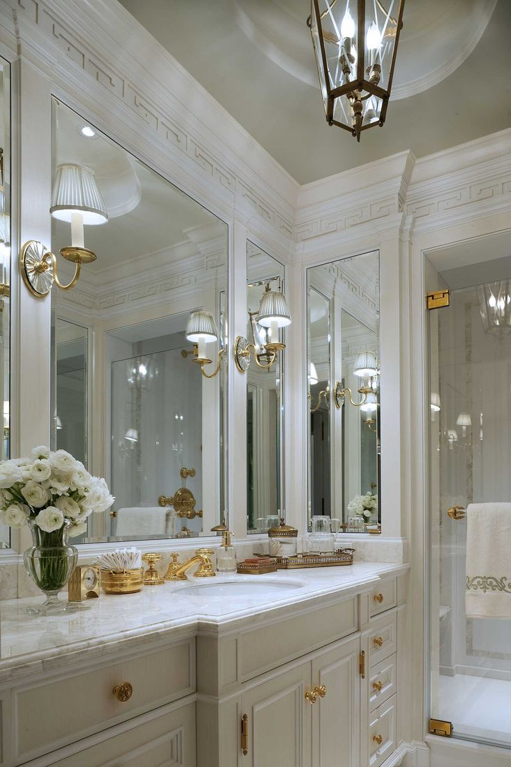 John B. Murray Architect Her Bathroom