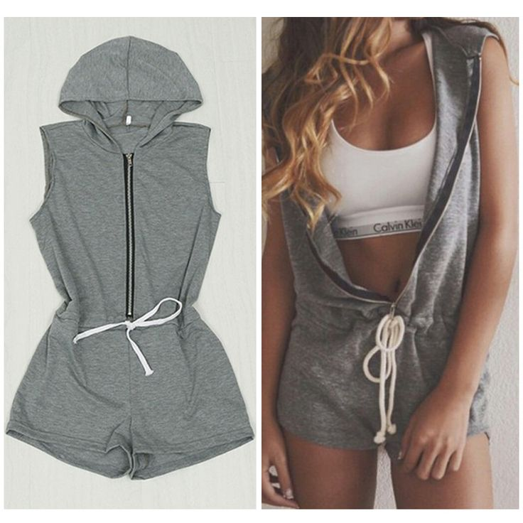 hooded romper pattern women - Google Search                                                                                                                                                                                 More