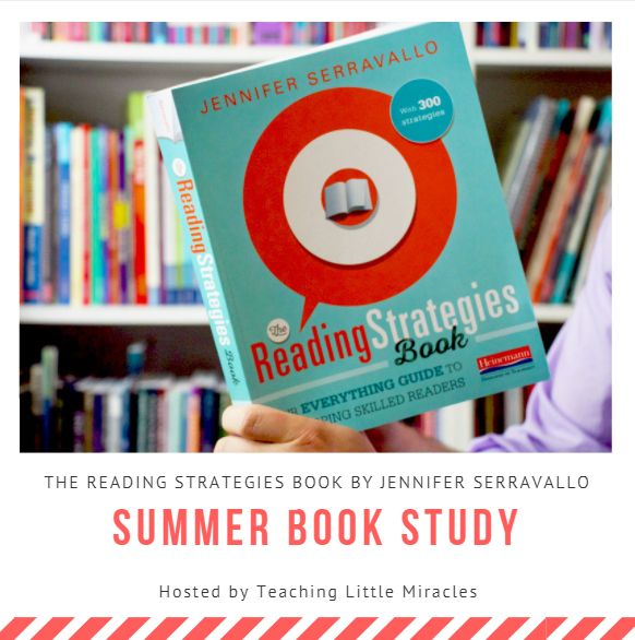 Book Study: The Reading Strategies Book | Join us as we learn 300+ reading strategies based on student goals!