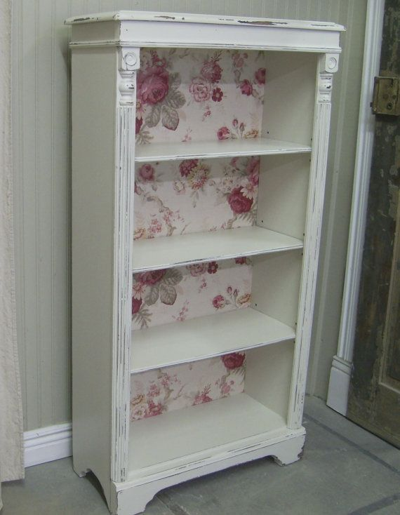 25 best shabby chic bookcase ideas on pinterest. Black Bedroom Furniture Sets. Home Design Ideas