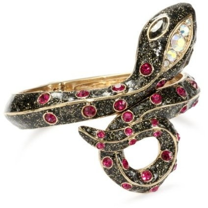 Betsey Johnson Snake Wrap Bangle Bracelet - designer shoes, handbags, jewelry, watches, and fashion accessories   endless.com