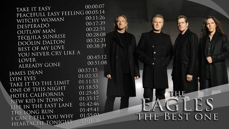 THE EAGLES - BEST ONE - 20 Best Songs from Eagles