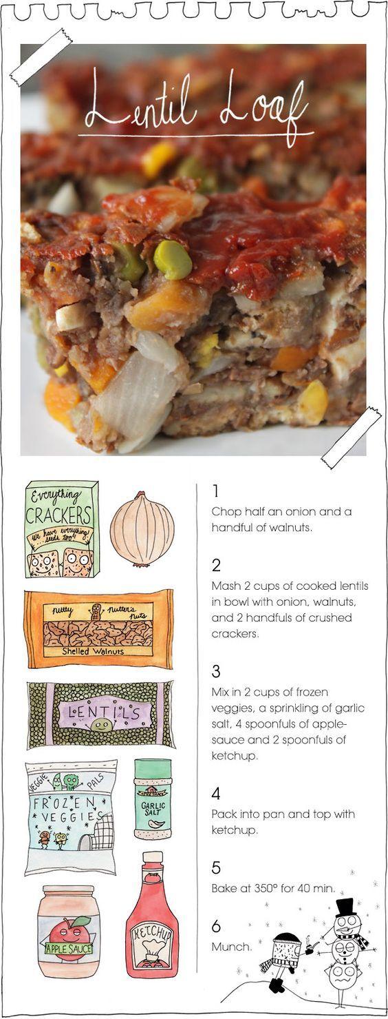 The Vegan Stoner's Lentil Loaf