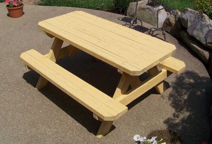 easy to build toddler picnic table | How to Build a Kids Picnic Table Plans
