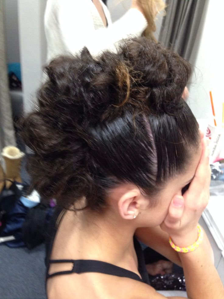 Fine Dance Hairstyles Mohawks And Messy Buns On Pinterest Hairstyle Inspiration Daily Dogsangcom
