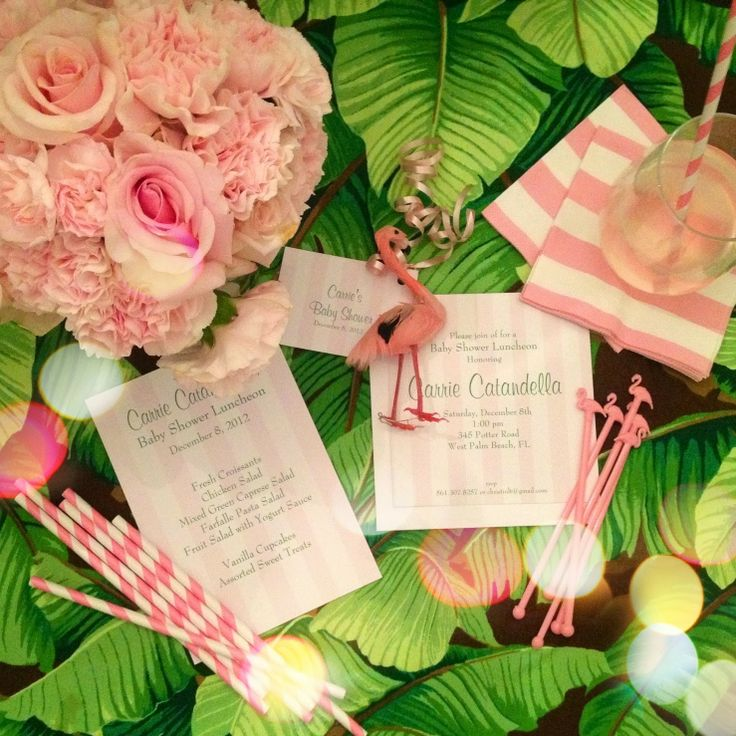A Palm Beach Chic Baby Shower, By Luxe Report Designs   The Glam Pad
