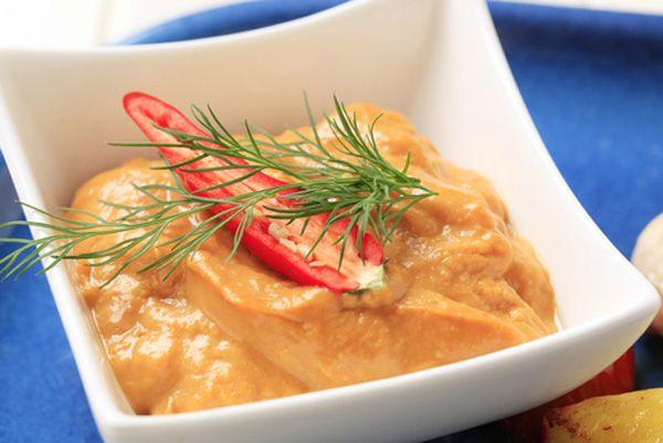 Ένα πικάντικο καυτερό ντιπ για τους λάτρεις των καυτερών!!!  Πηγή:http://www.athinorama.gr/umami/food/recipes/?id=4190