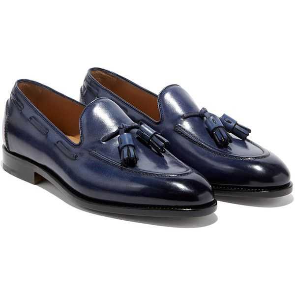 Salvatore Ferragamo Tassel Loafer (27687515 BYR) ❤ liked on Polyvore featuring men's fashion, men's shoes and men's loafers