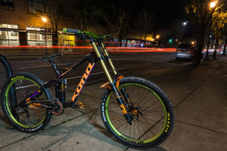 Spank'd out! 'Schmitty's Skittles Kona Operator'. From Vital MTB member Schmitty@universalcycles.com