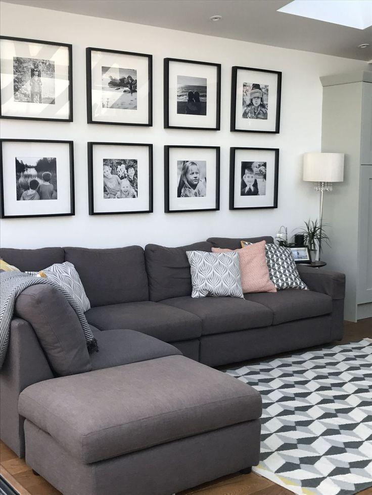 44 Schöne Schwarz-Weiß-Wohnzimmerideen