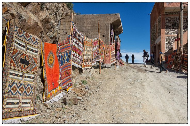 Rug Road - Imlil Valley, Morocco   Flickr - Photo Sharing!