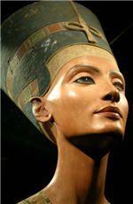 Buste de Néfertiti, 1500 avant J.C. , Musée égyptien de Berlin