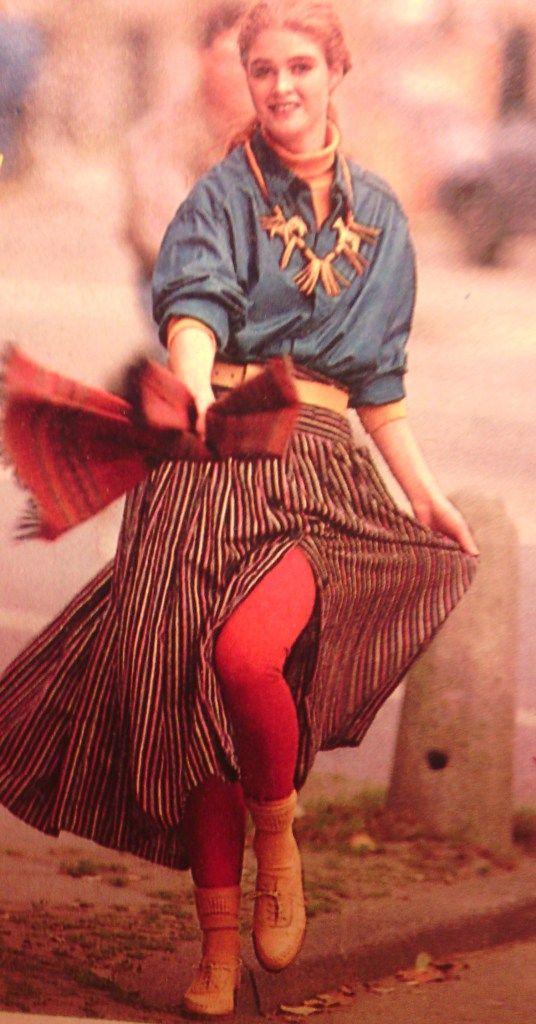 Etnische mode jaren 80 vrouw