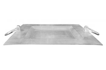 Square Tray with Ring Handles available at meizai