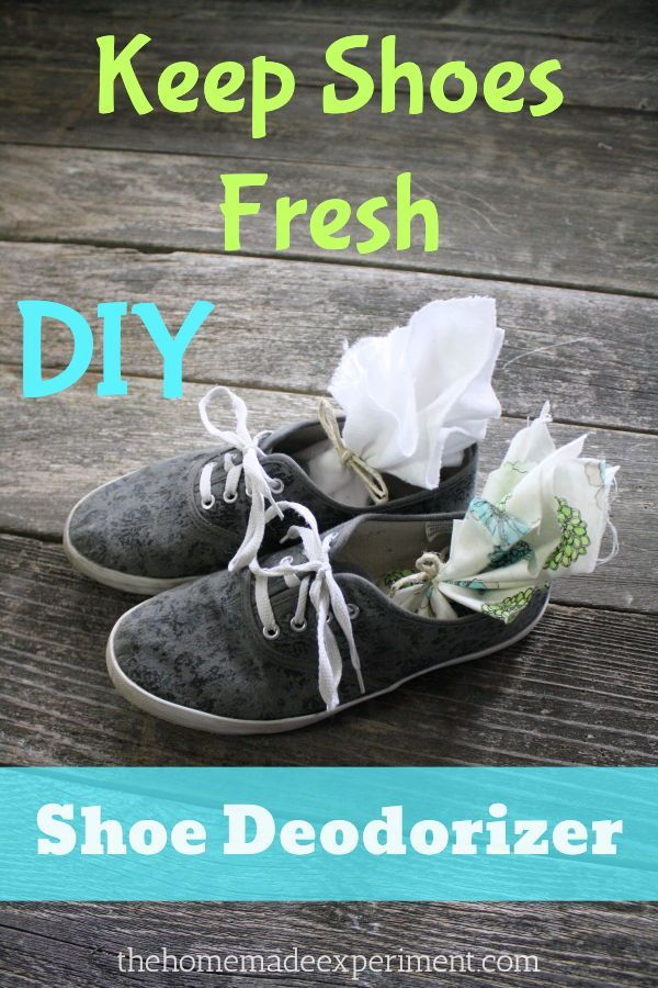 Homemade Shoe Deodorizer Sachets Deodorize Shoes Homemade Shoes Baking Soda Shoes