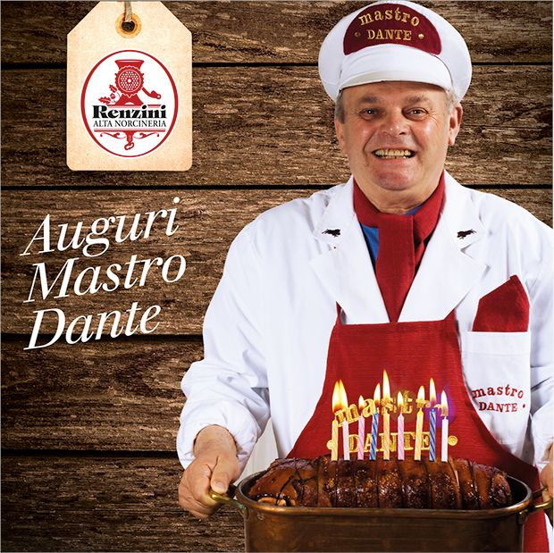 Happy Birthday Mastro Dante!