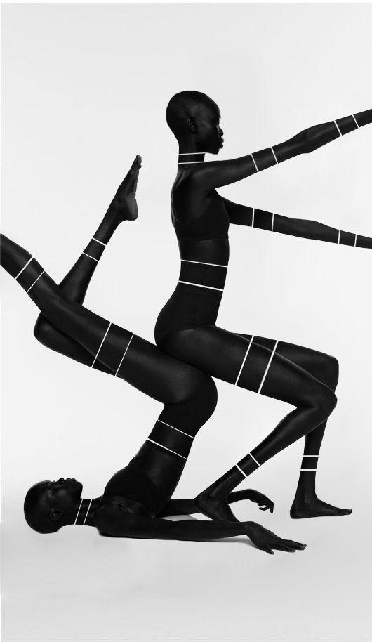 "teiq: ""Mari Agory & Mari Malek for Suited Magazine Original photo by Paul Jung """
