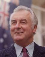 Gough Whitlam... the Australian Prime Minister who was ahead of his time.