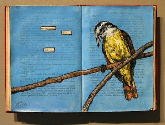 Altered Books (I think this would be cool if every kid had a chance to create a page throughout the year).