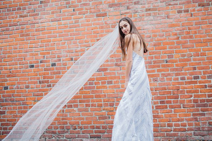 O M Design. Edgy Wedding Dress