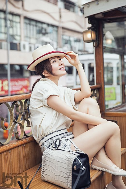 Kim Hee Ae - bnt International May 2015