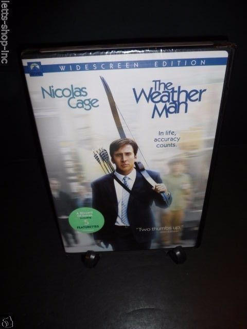 The Weather Man (DVD, 2006)  Michael Caine, Nicolas Cage, Hope Davis New Sealed