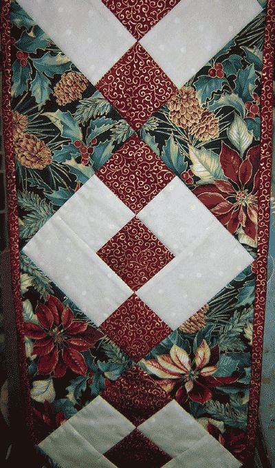 Quilt Patterns For Christmas Tablerunners Twas The Night Before