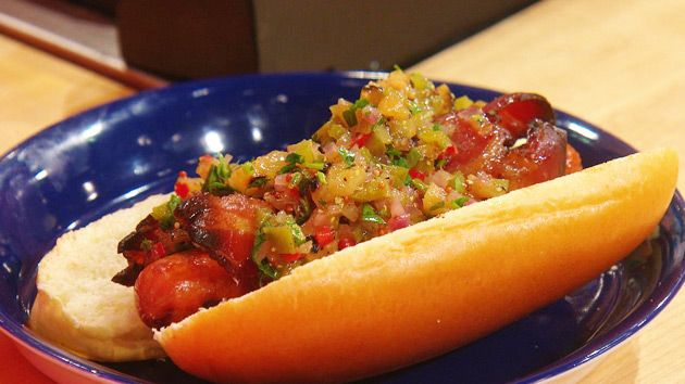 Hawaiian Hot Dog Relish Recipe