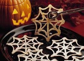 Печенье «Паутинка» на Хэллоуин