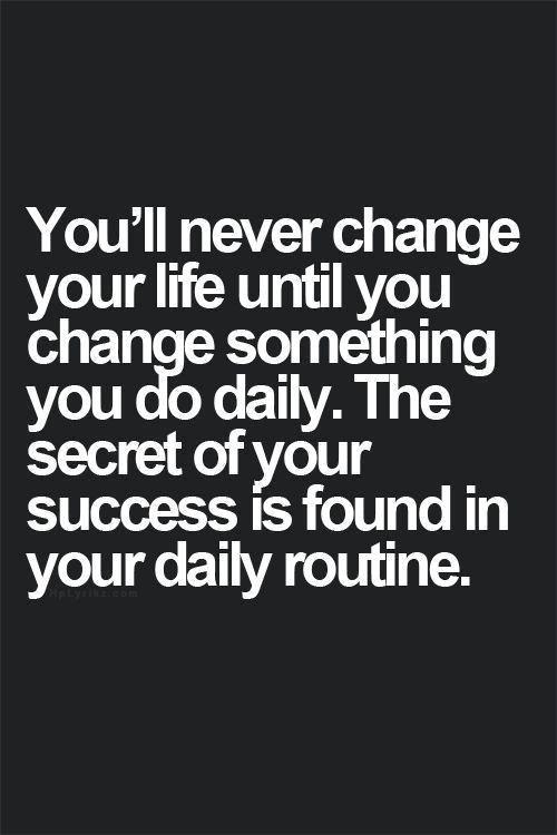 Setting realistic personal goals