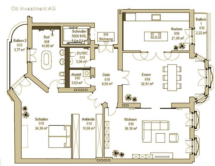 10 best images about grundriss auf pinterest grundrisse berlin und ps. Black Bedroom Furniture Sets. Home Design Ideas
