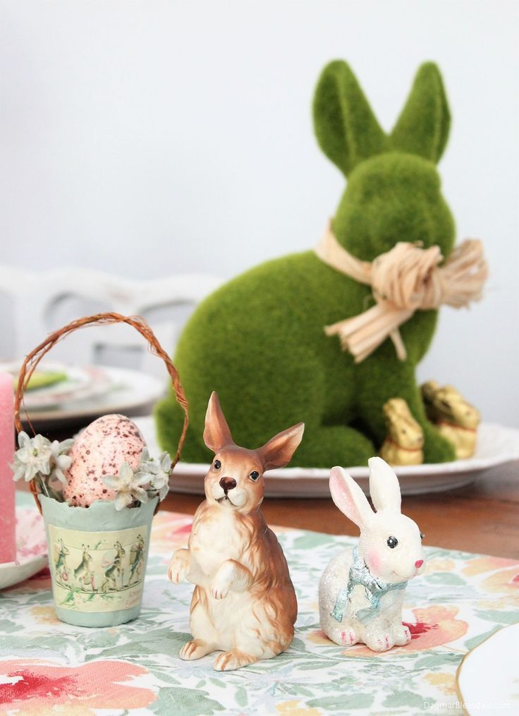 192 best easter images on pinterest easter ideas easter for Easter home decorations