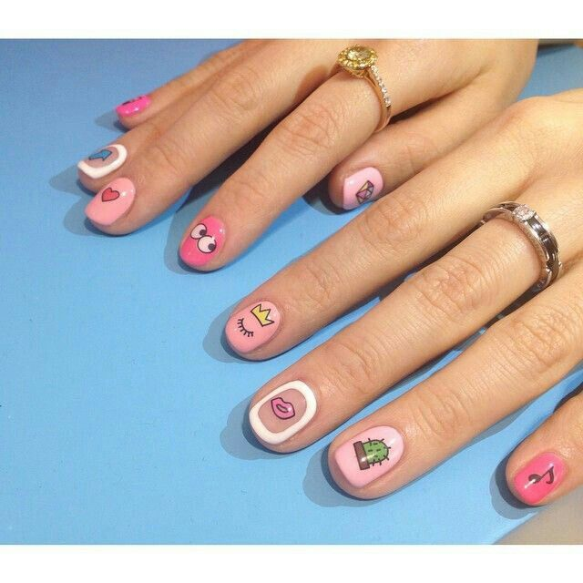 Best 25+ Korean Nail Art Ideas Only On Pinterest