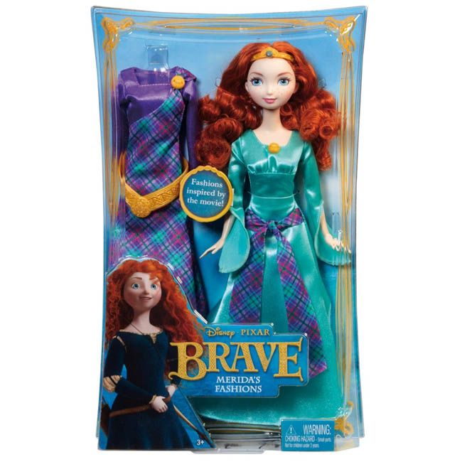 Disney Brave - Merida Doll with accessories