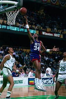 #TBT Auburn All-American Chris Morris selected 4th overall in 1988 @NBA Draft by the Nets @BrooklynNets #WarEagle
