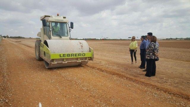Comienzan las obras de reparación y mejora de diez caminos rurales en seis municipios de la Región
