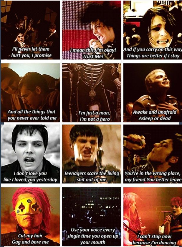 My Chemical Romance| lyrics