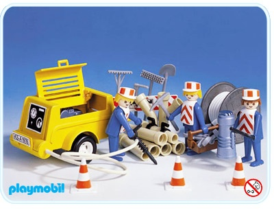 Playmobil chantier/work (3239-A)