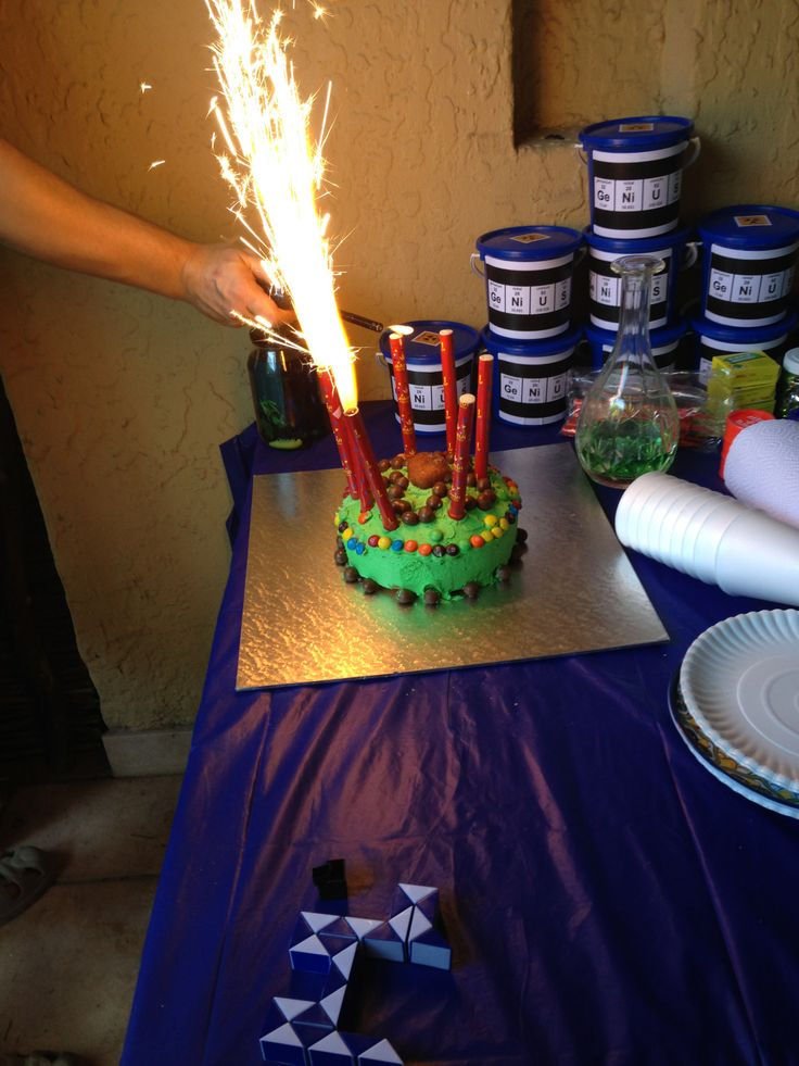 Exploding candles