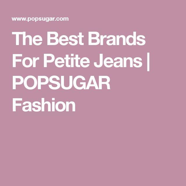 The Best Brands For Petite Jeans | POPSUGAR Fashion