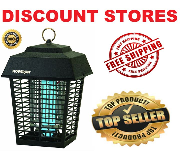 Electronic Insect Killer Mosquito Bug Zapper Garden Lamp 1/2 Acre Coverage NEW #ElectronicInsectKillerMosquito