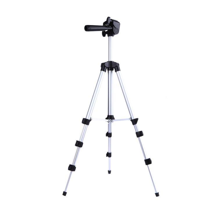 Profesional kamera tripod berdiri pemegang untuk iphone ipad samsung kamera digital + meja/pc pemegang + dudukan telepon + nylon membawa tas