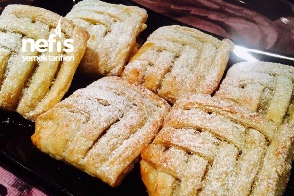 Tahin Pekmezli Milföy Pastacıklarım Tarifi nasıl yapılır? 426 kişinin defterindeki bu tarifin resimli anlatımı ve deneyenlerin fotoğrafları burada. Yazar: Ayşe'nin mutfağı