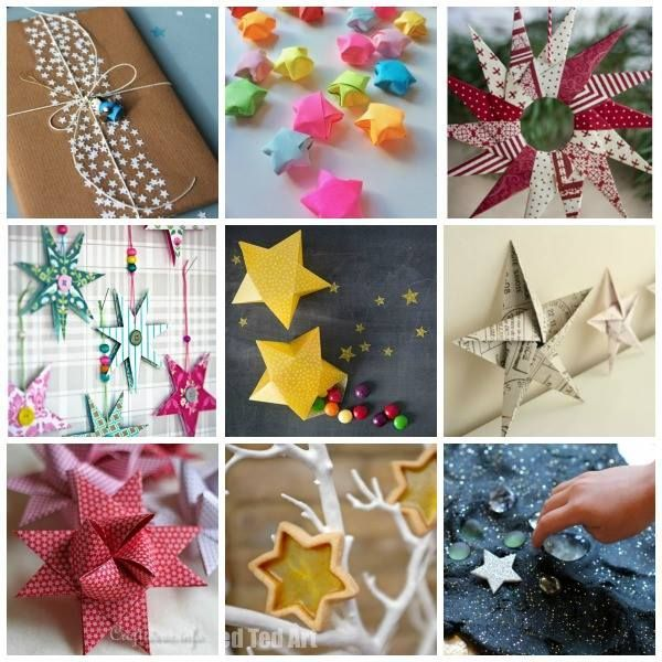 50 Star Craft Ideas – oh these are all so wonderful and perfect for Christmas too!