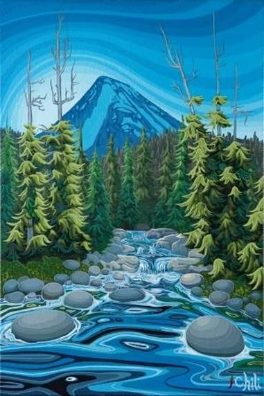 The River Runs Deep ~ by Chili Thom, Whistler, B.C.